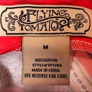 Flying Tomato Shorts - Flying Tomato High Waist Shorts